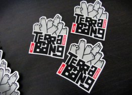 Terrabang Supply Co Vinyl Stickers