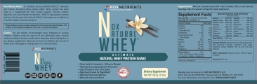 Dietary supplement label - Advertising / FDA compliance / edited copy